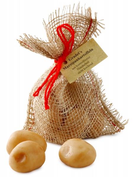 Marzipankartoffeln im Säckchen